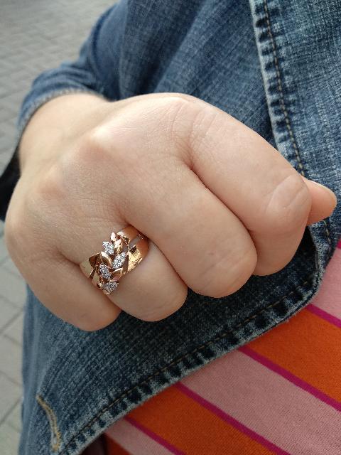 Сегодня мне посчастливилось найти и купить замечательное кольцо.