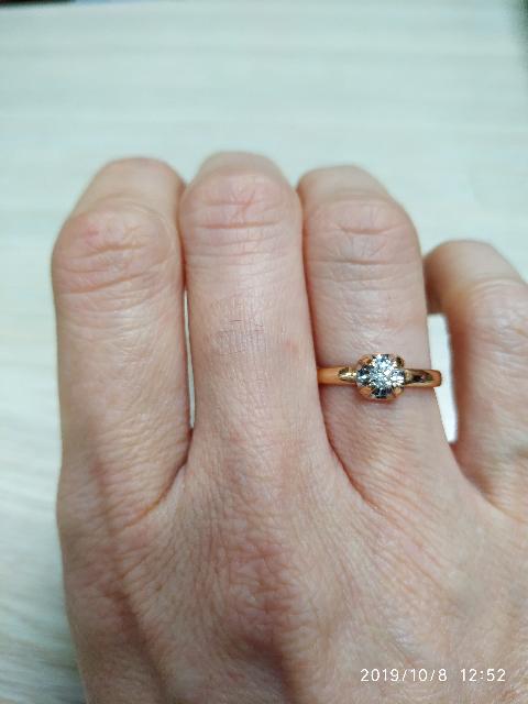 Кольцо-любовь с первого взгляда!