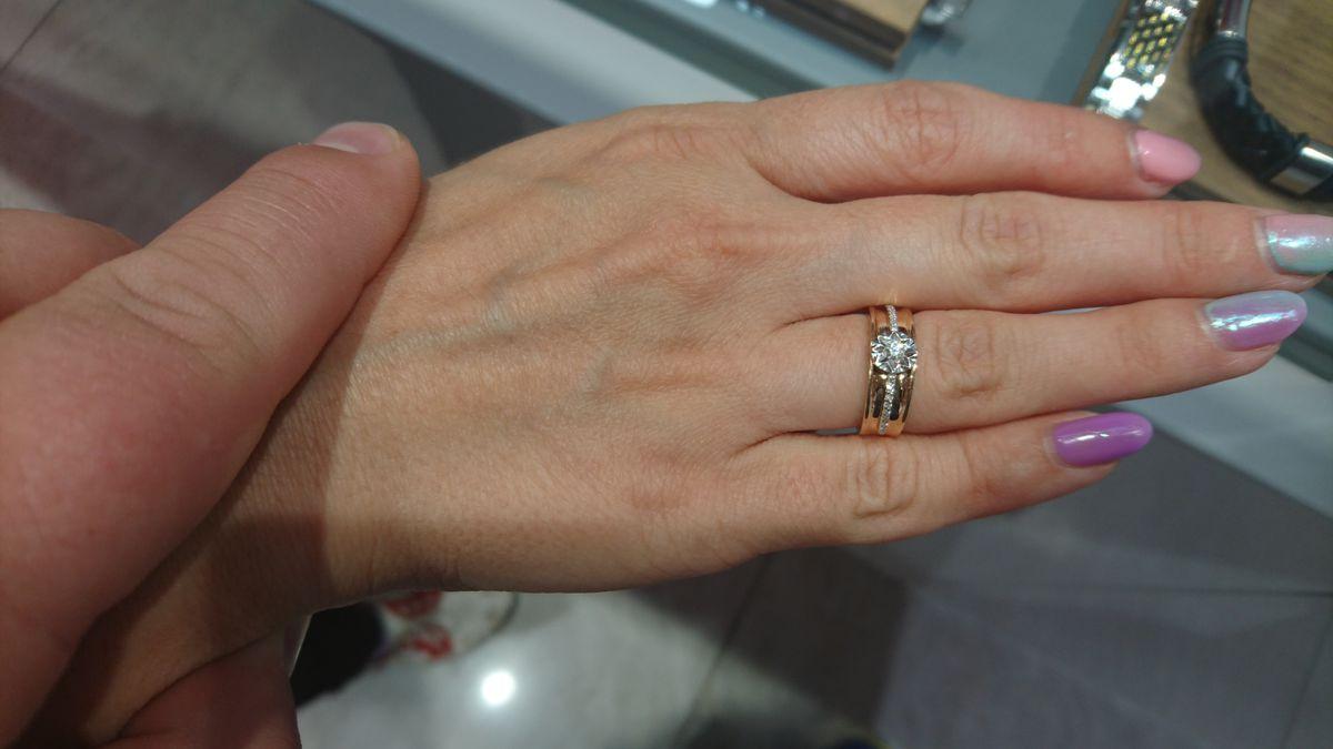 Великолепное обручальное кольцо