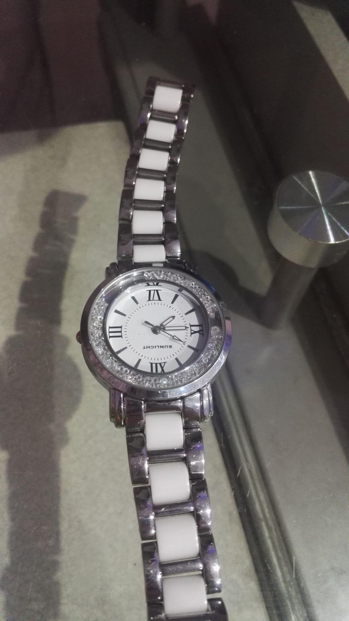 Часы Санлайт. Керамика,алюминиевый сплав