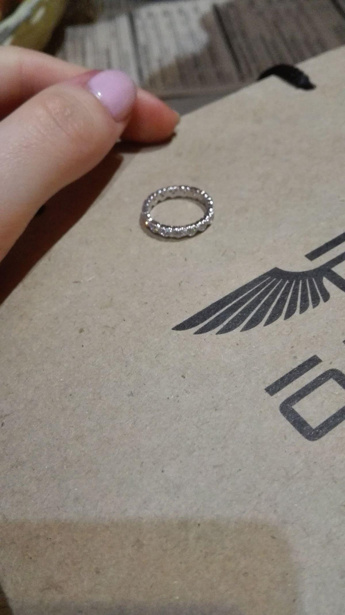 Кольцо на фалангу (серебро)