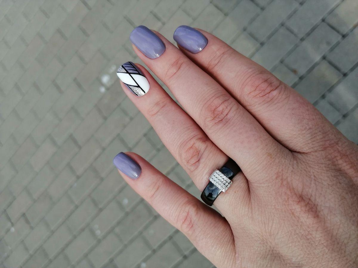 Стильное керамическое кольцо