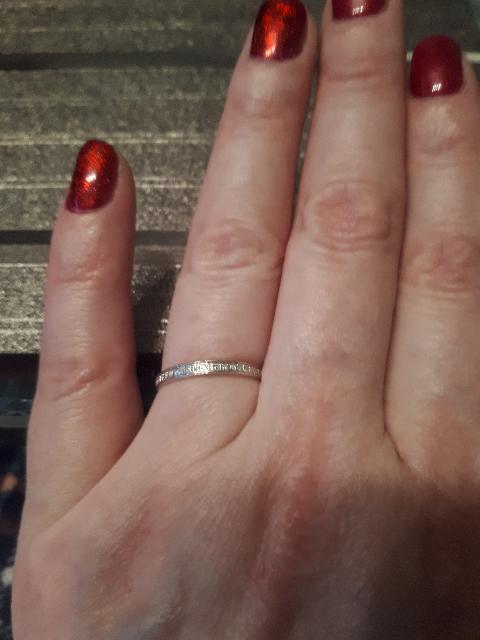 Кольцо с бриллиантами!