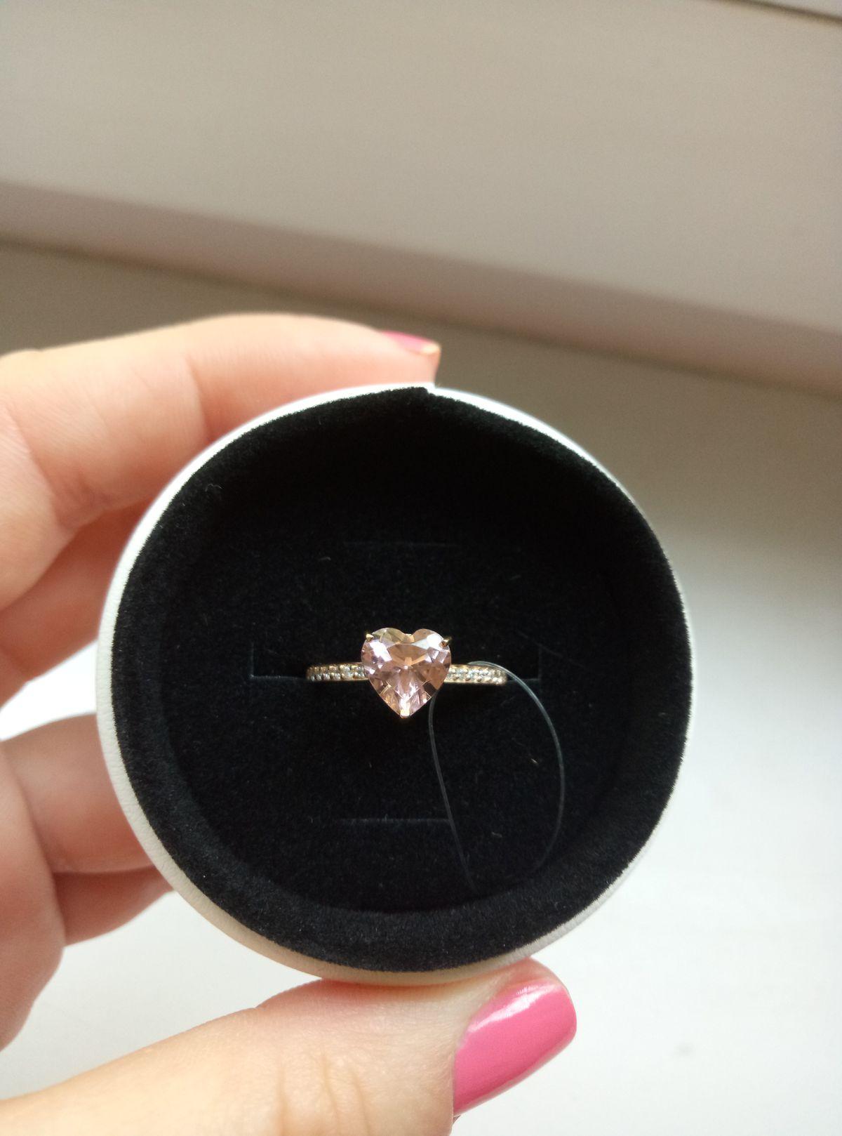 Просто очень красивое кольцо нежное
