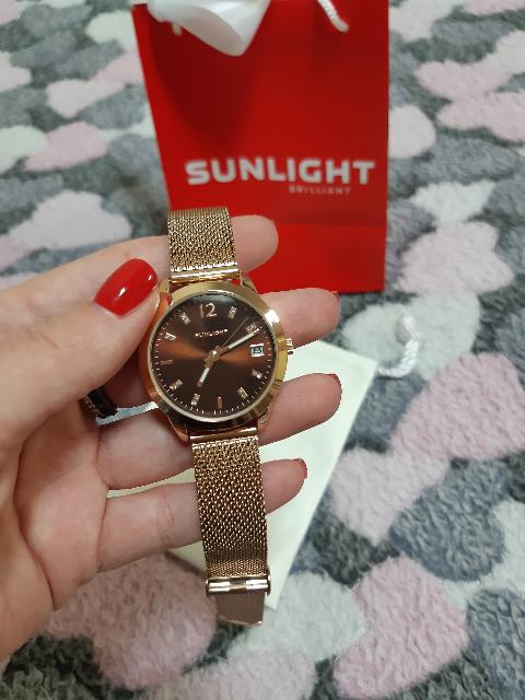 Часы женские розовое золото
