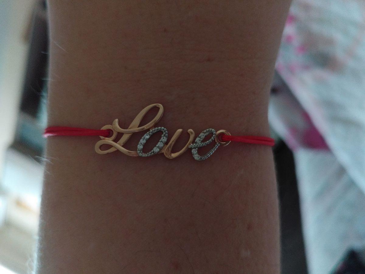 Браслет любовь
