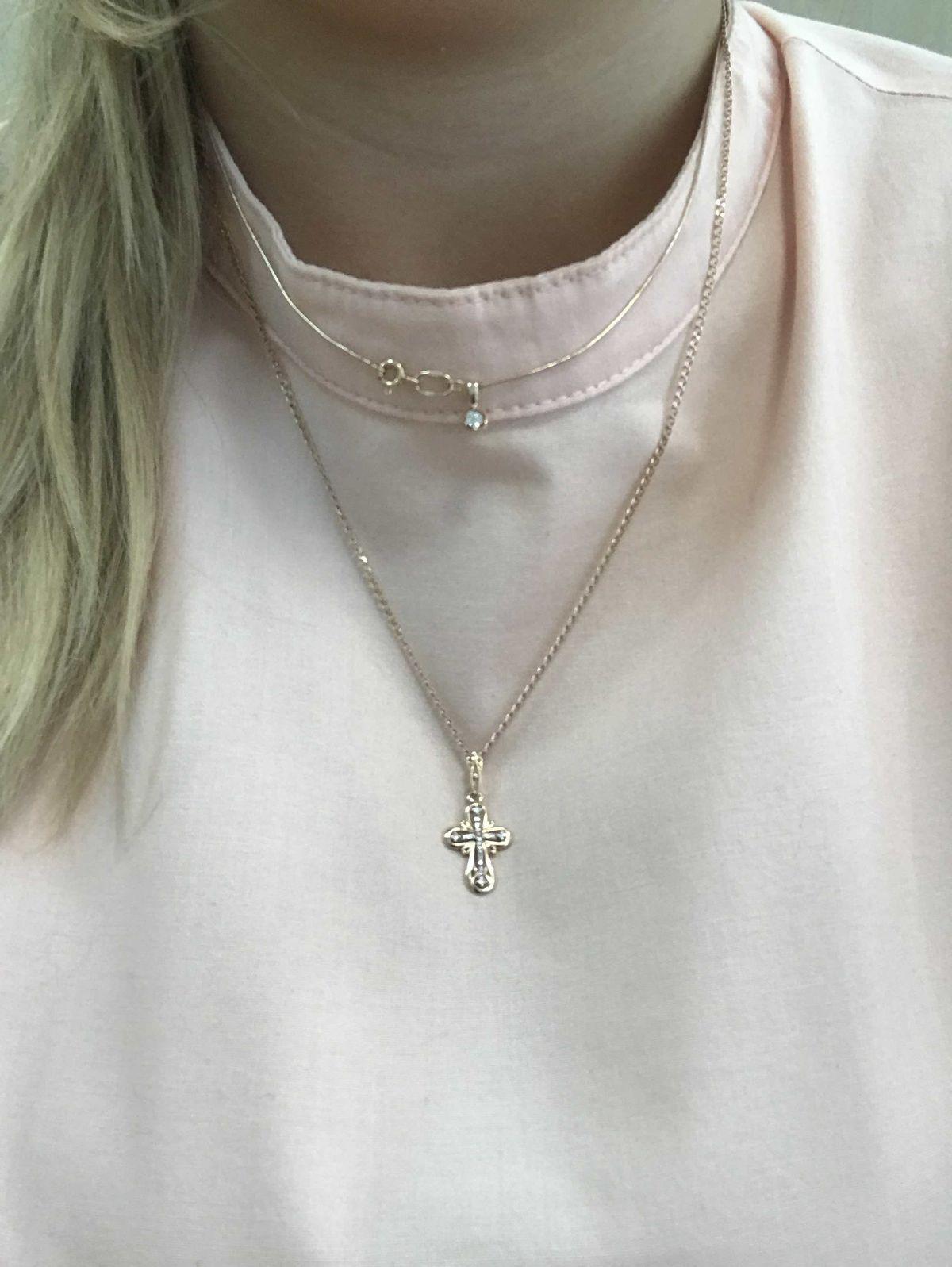 Очаровательный крестик )