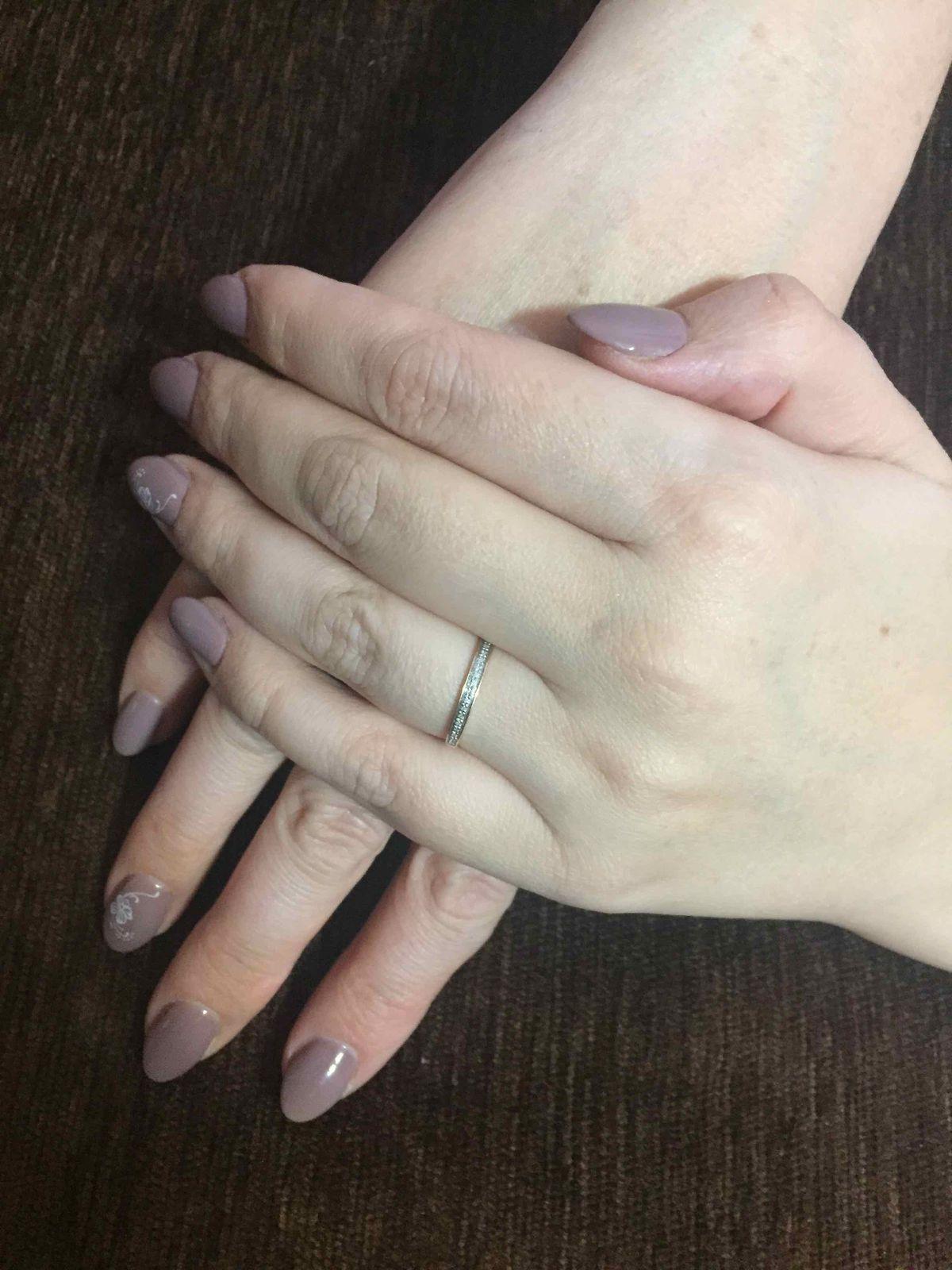 Очень красивое и аккуратное кольцо