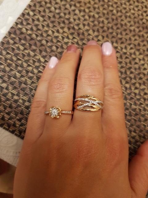 Размер кольца 18.