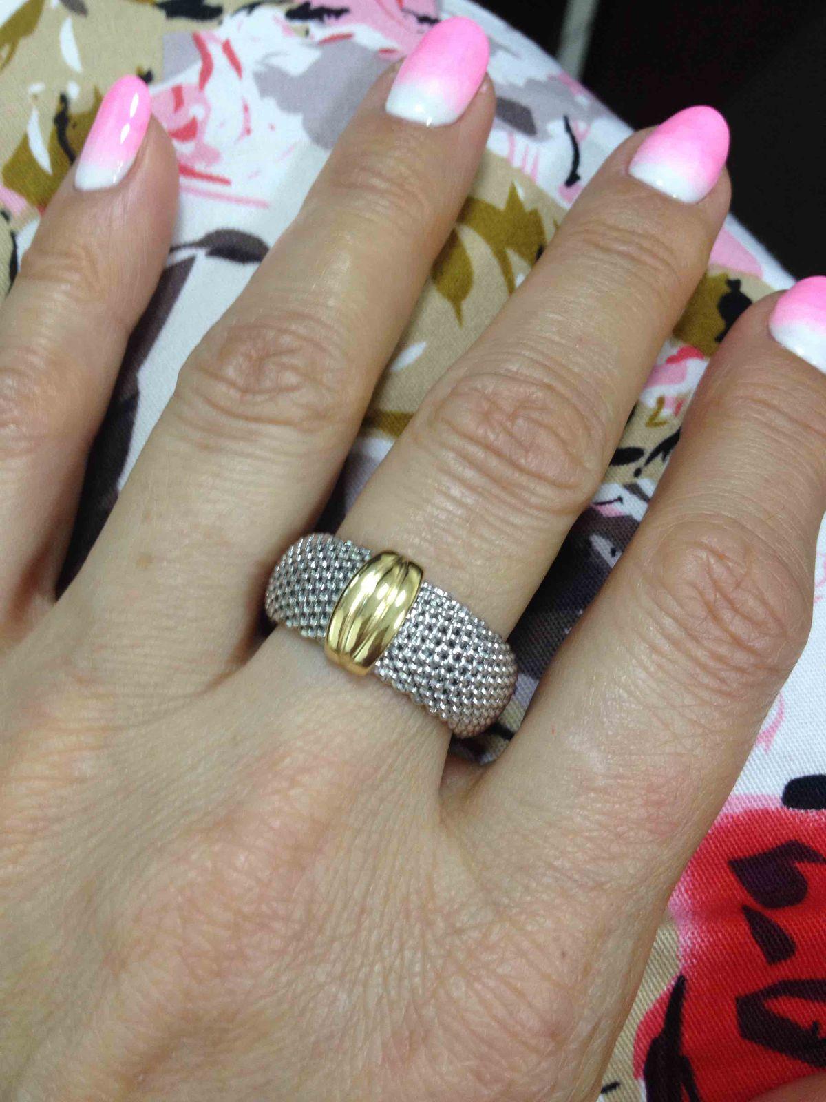 Серебряное кольцо Amalfi