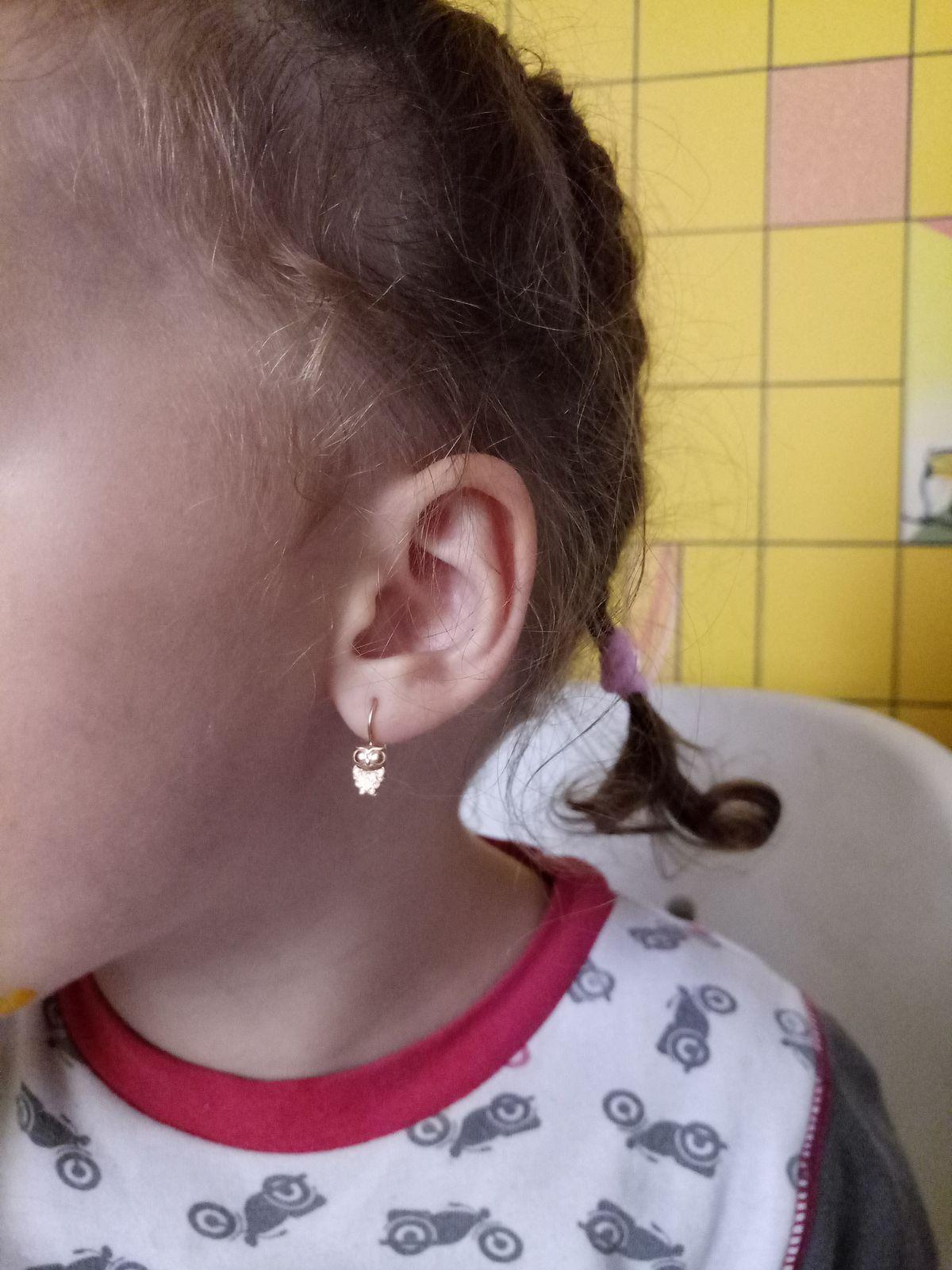 Милые серёжки для маленькой девочки. Совушки просто очаровательные!!!!!!!!!