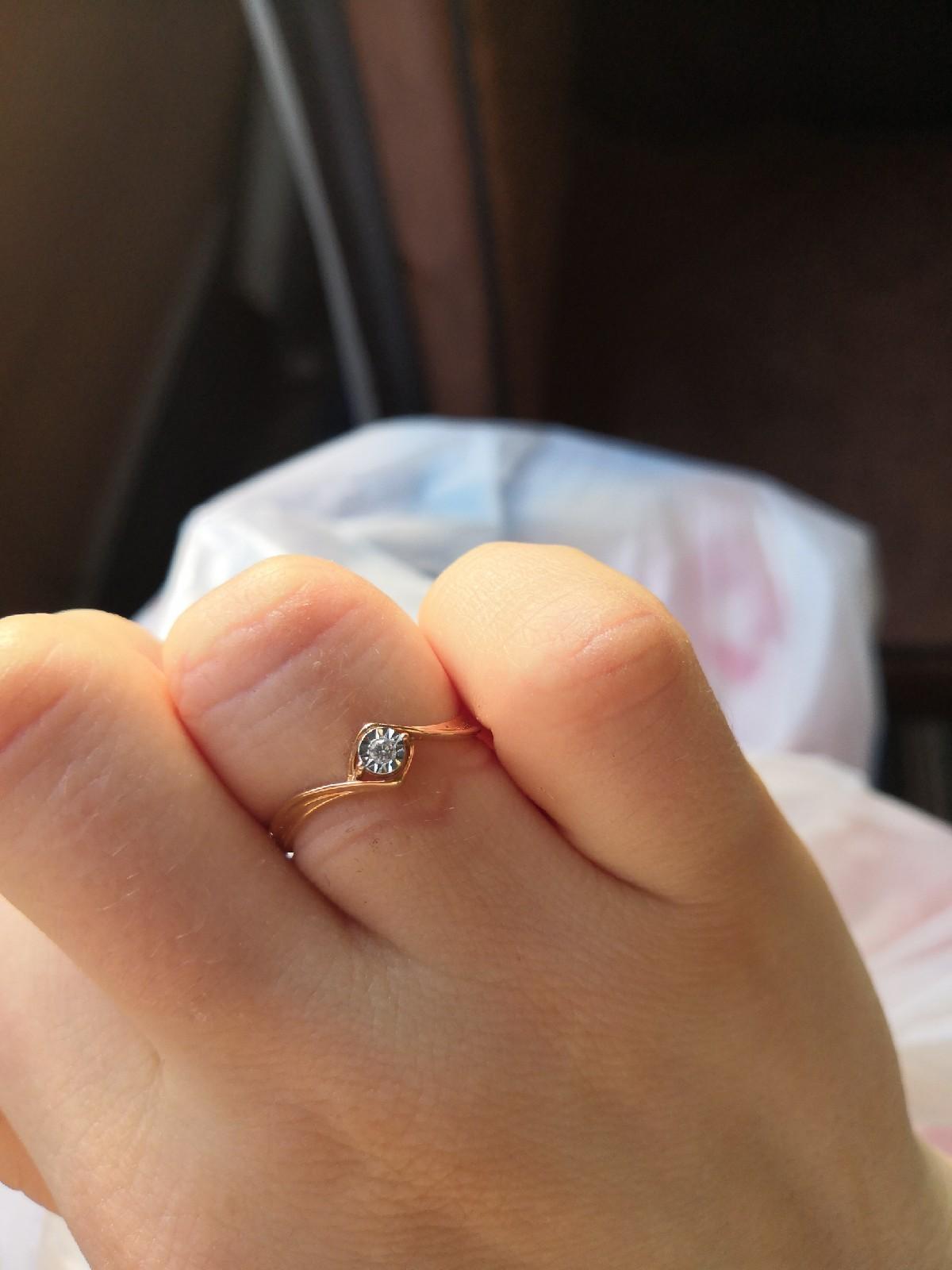 Отличное кольцо, эффектное