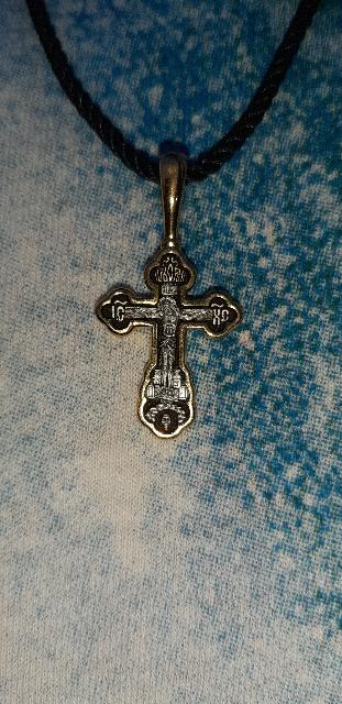 Симпатичный крестик!