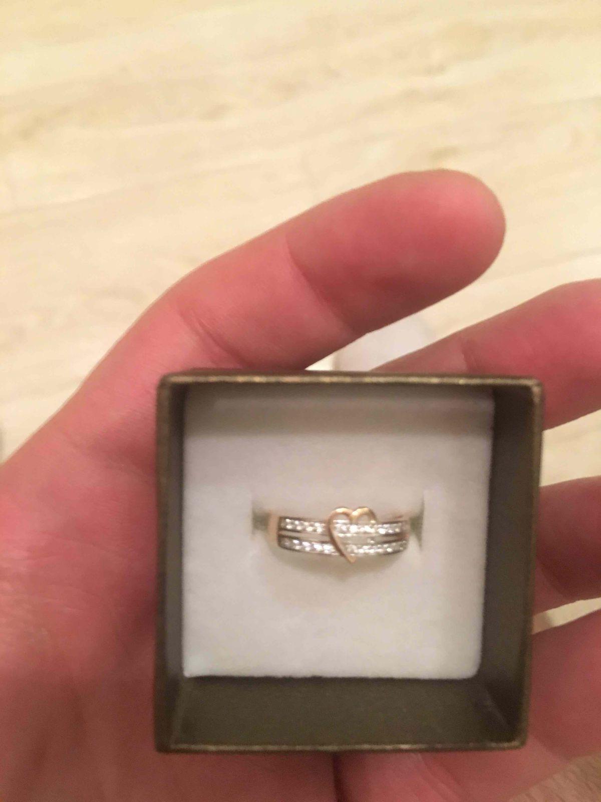 Необычное кольцо, очень сильно понравилось, подарок для девушки.