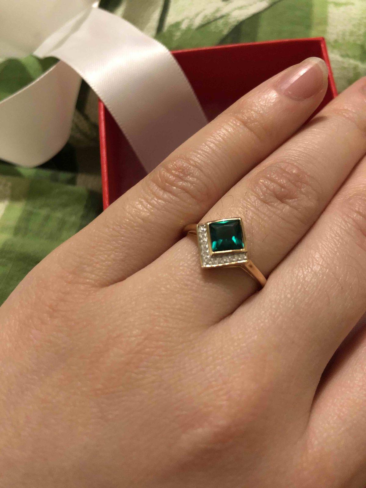 Изумруд и бриллианты