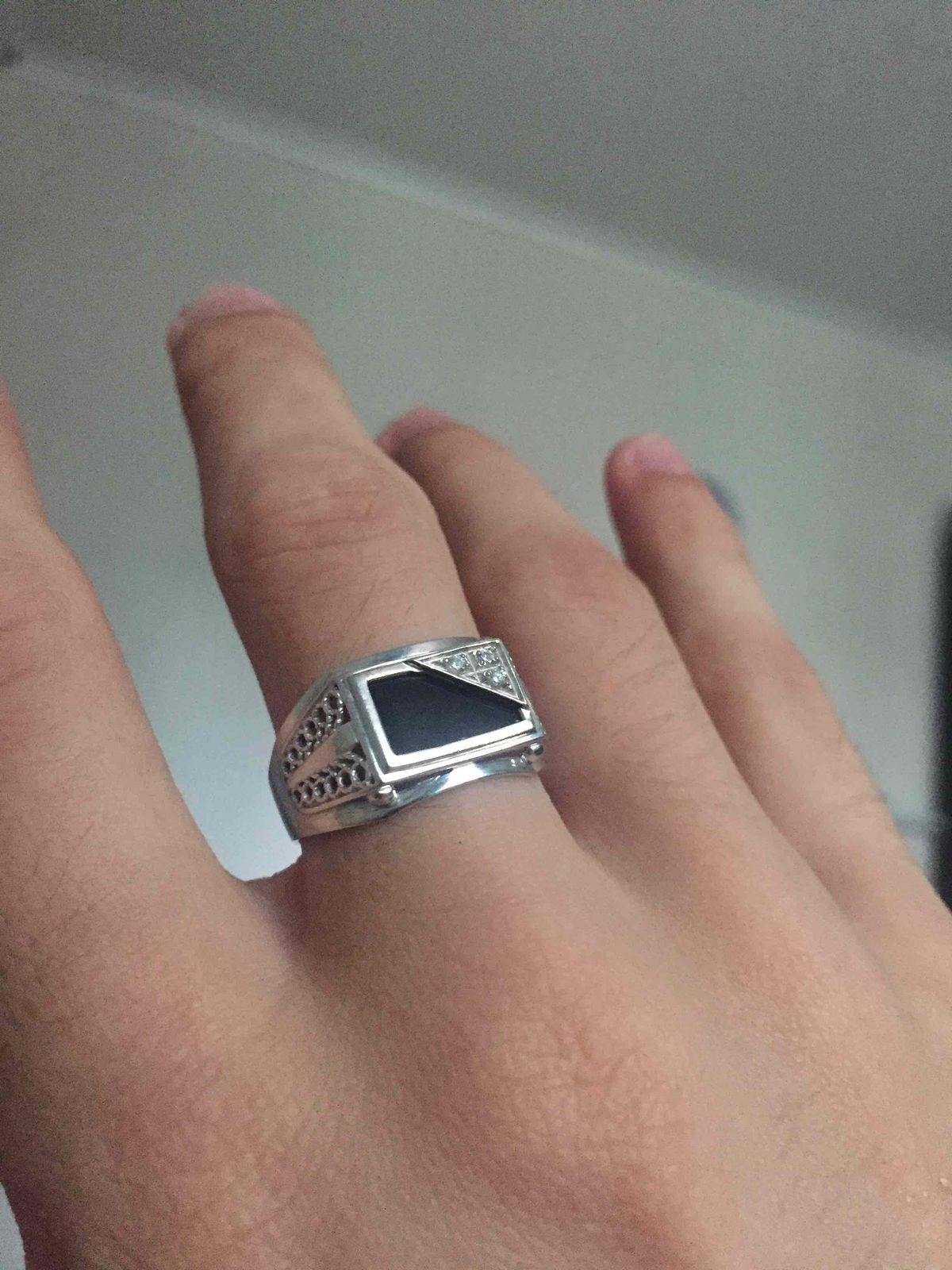 Отличный солидный перстень