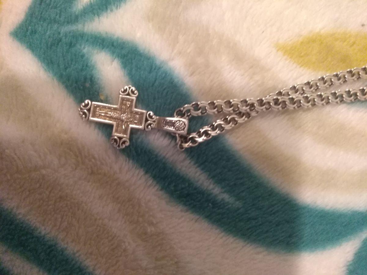 Крестик для мужа