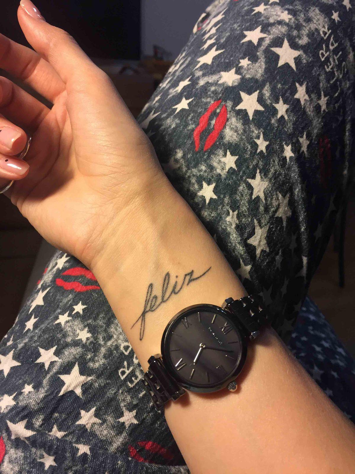 Эти часы сделали меня feliz)