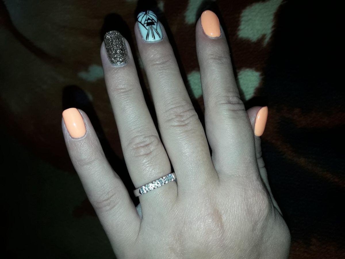 Отличное кольцо из серебра