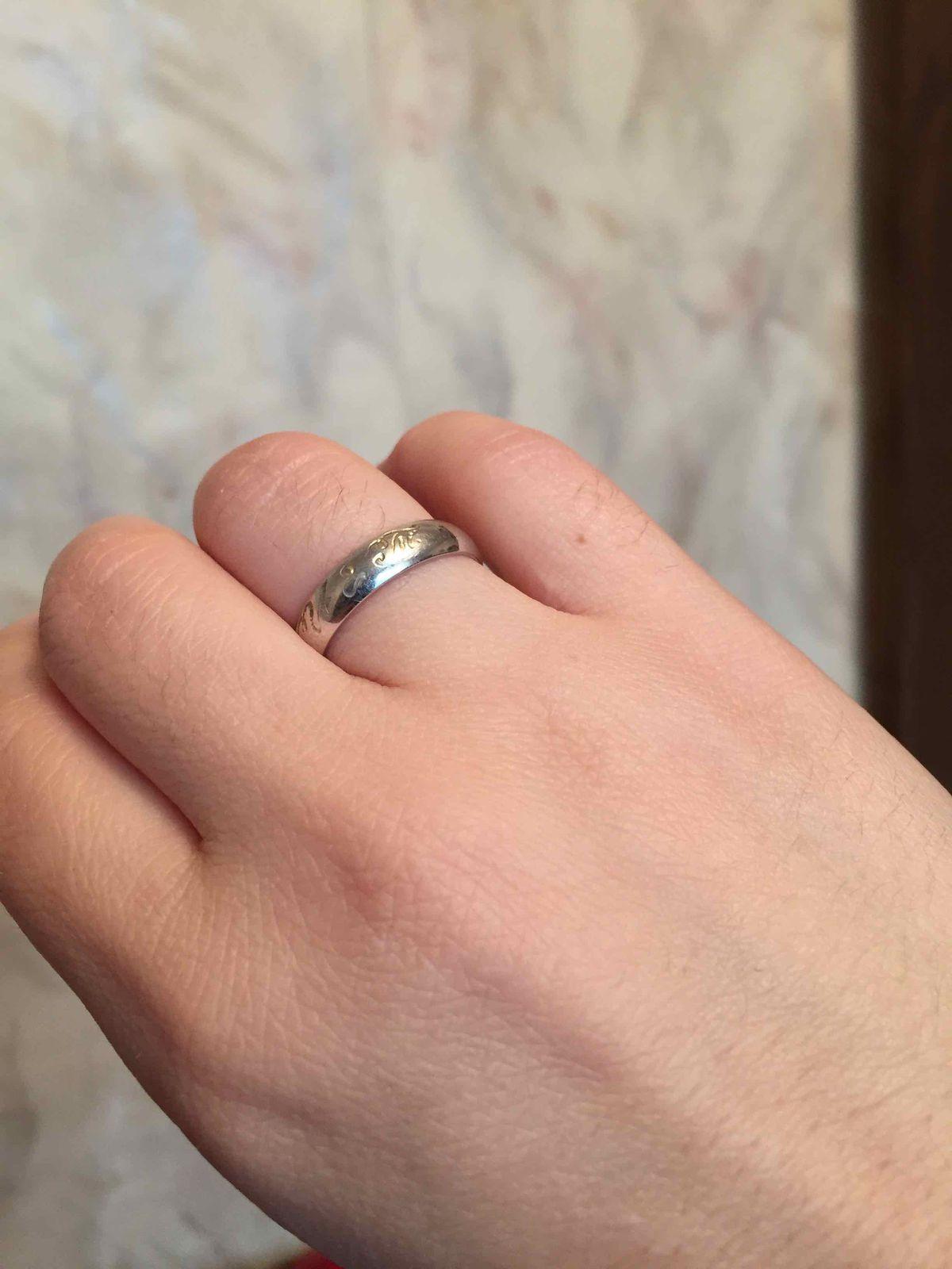 Кольцо под гравировку