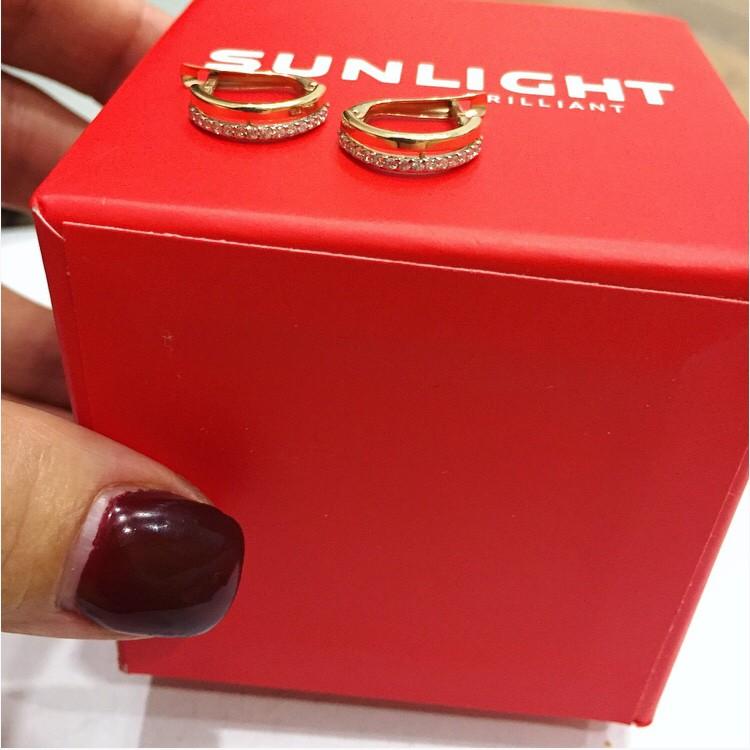 Серьги Sunlight