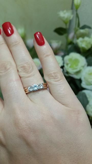 Кольцо просто восхитительное!