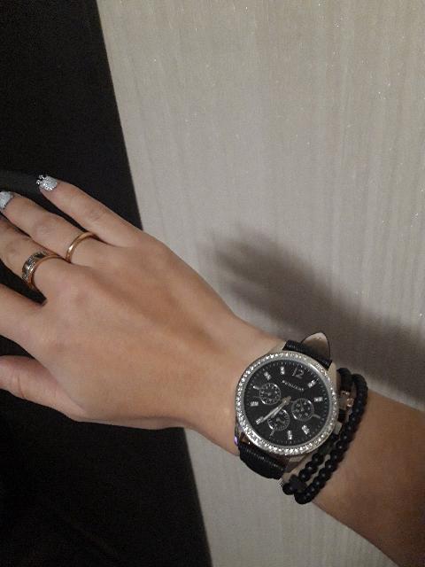 Супер часы, довольна.