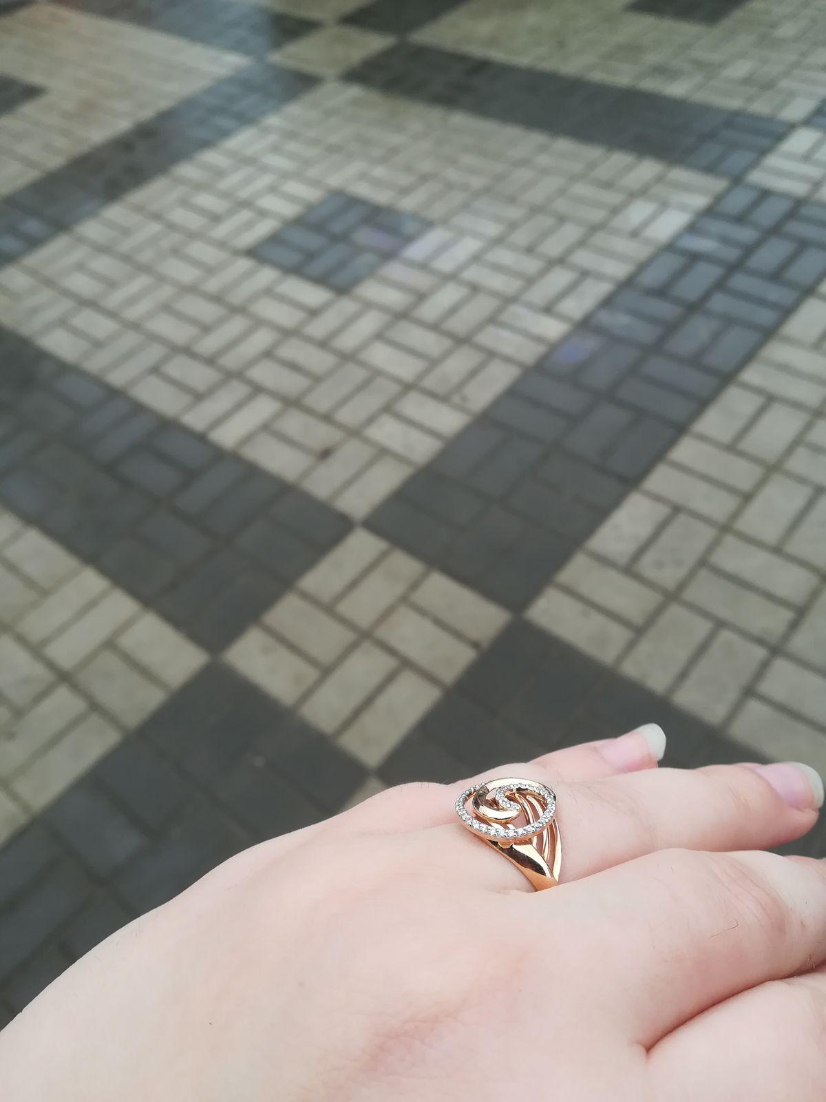 Шикарное кольцо под ёлочку
