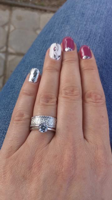 Греческое шикарное кольцо