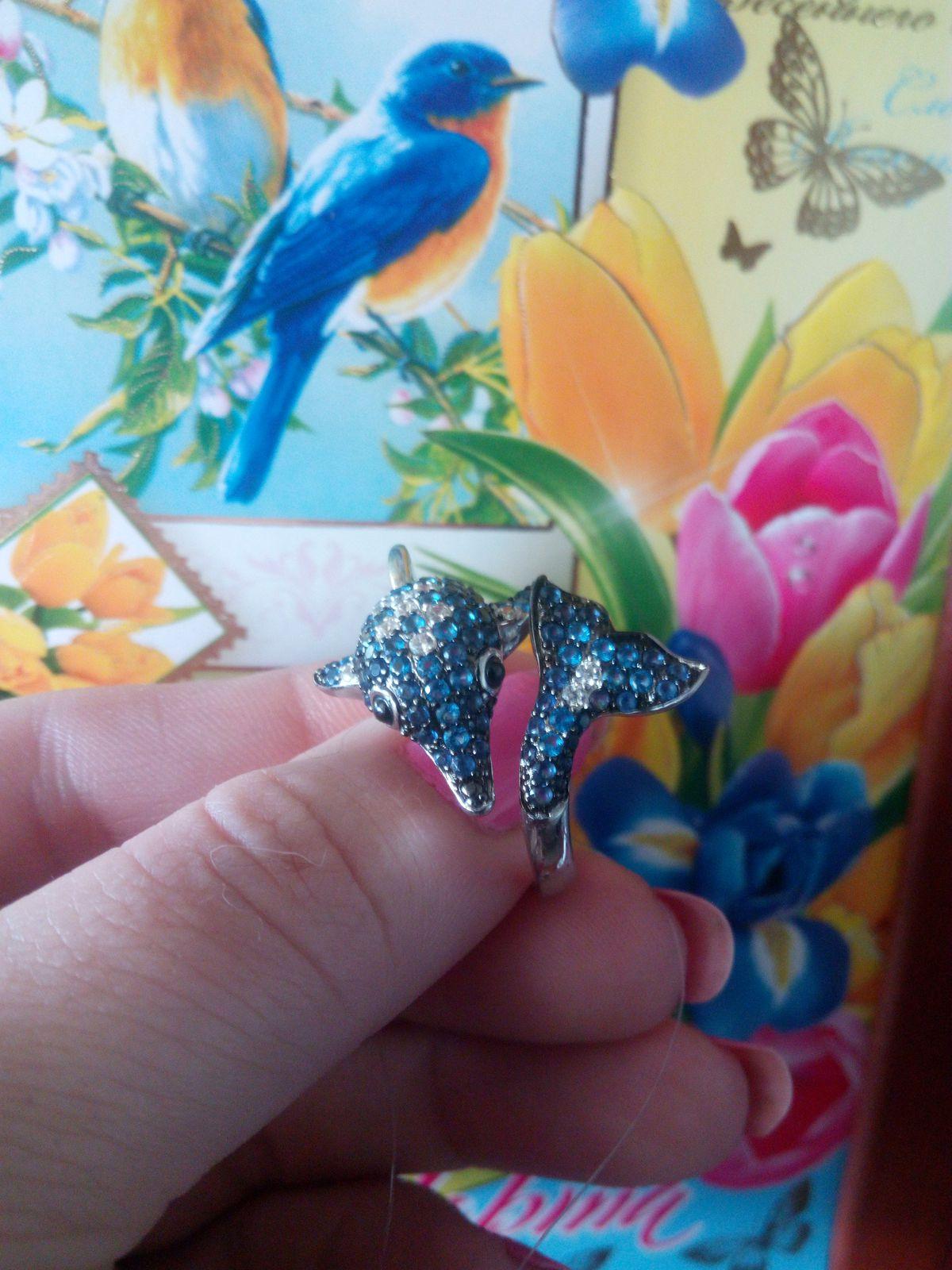 Кольцо - Дельфин.
