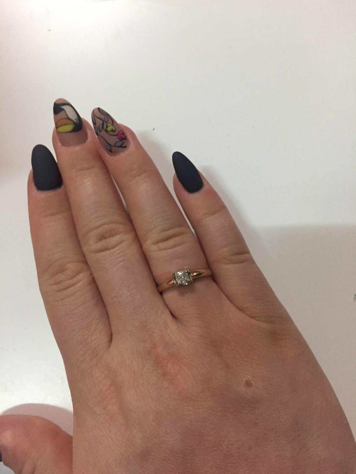 Отличное кольцо для помолвки!