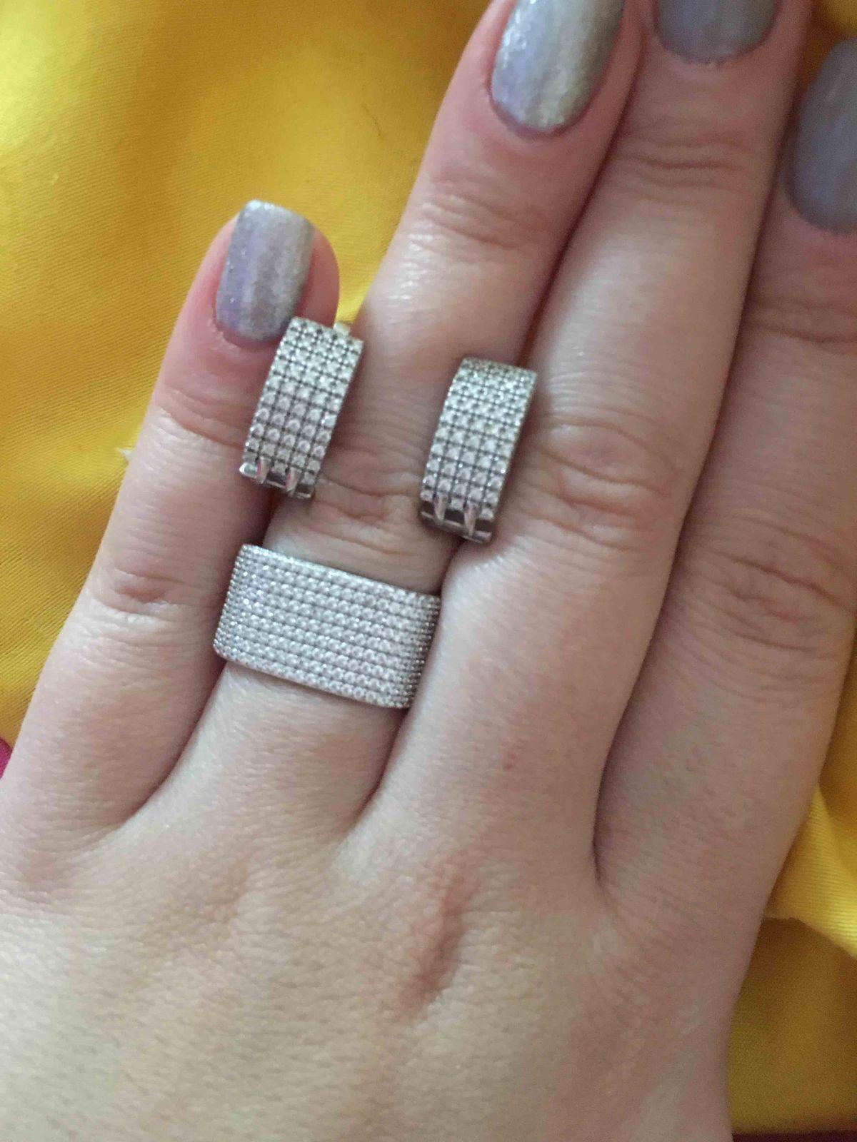 Широкое кольцо дорожка