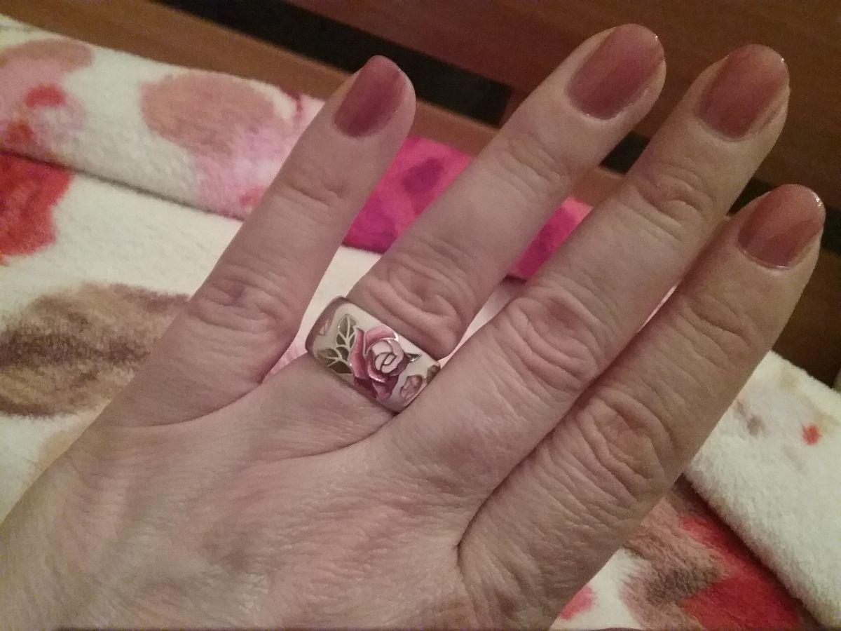 Отзыв на покупку серебряное кольцо с эмалью