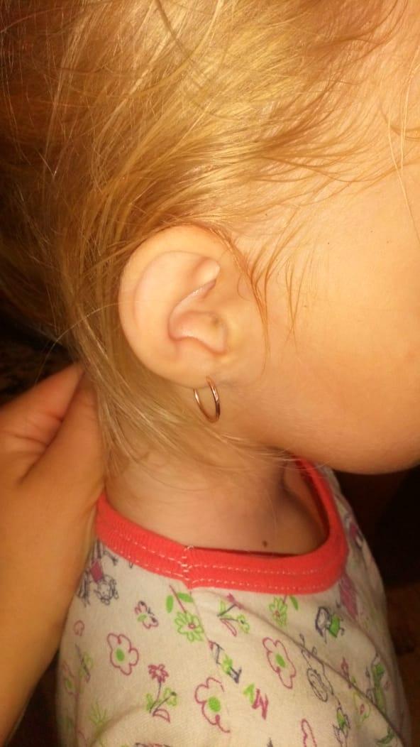 Маленькие сережки для маленькой принцессы