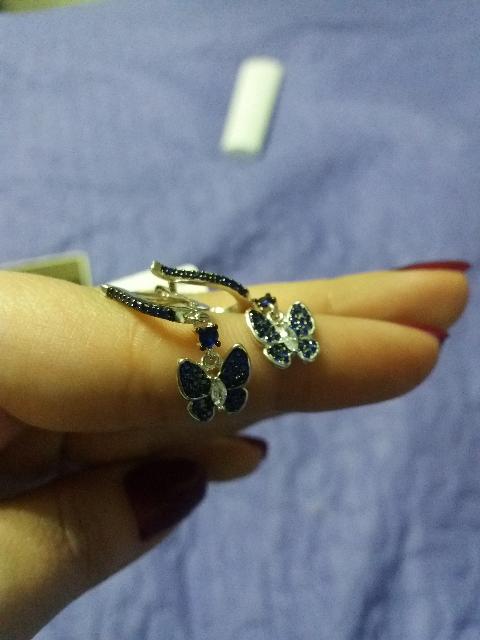 Серьги_ бабочки