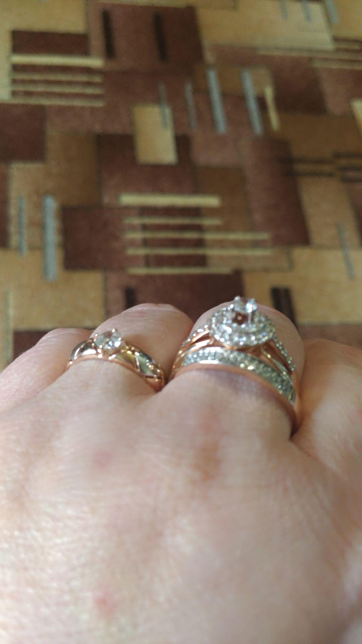 Стильное кольцо на выход