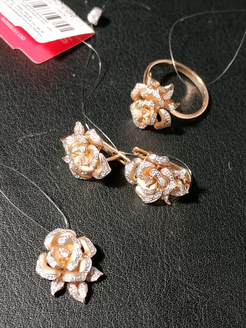 Комплект из роз