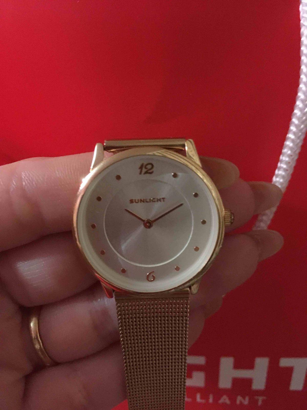 Золотые часы!