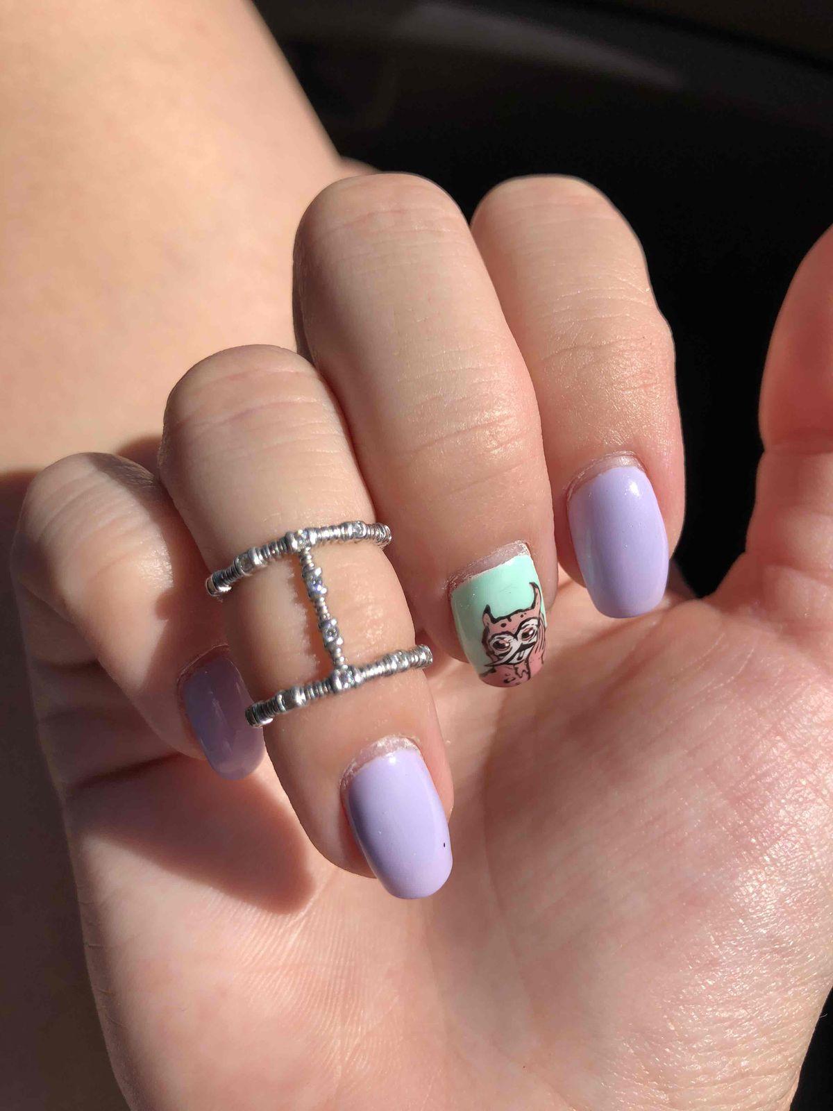 Отличное кольцо на фалангу