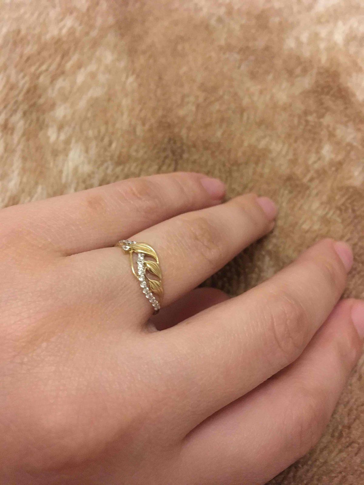Нежное и изящное кольцо)
