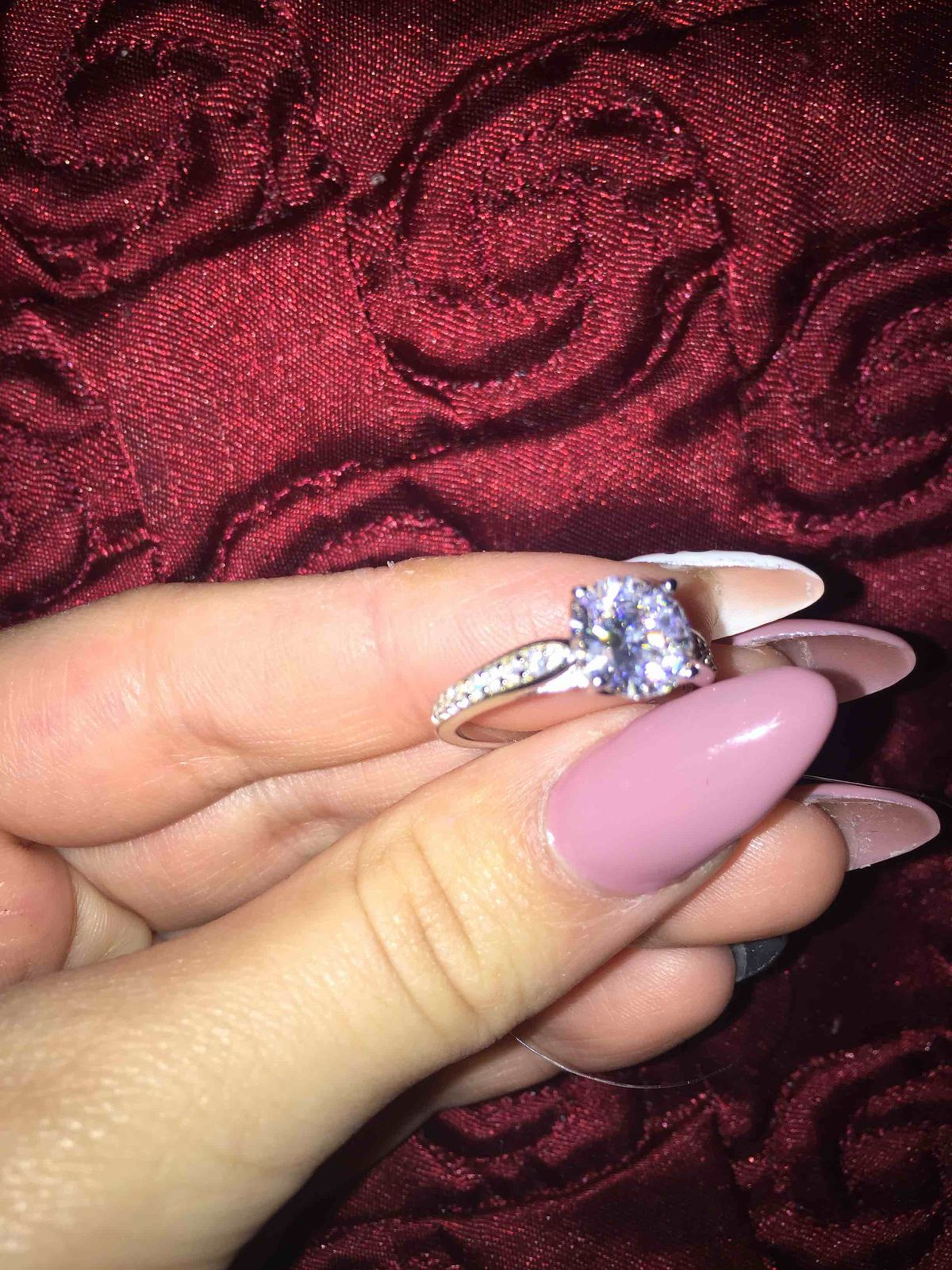 Очень нереально-красивое кольцо
