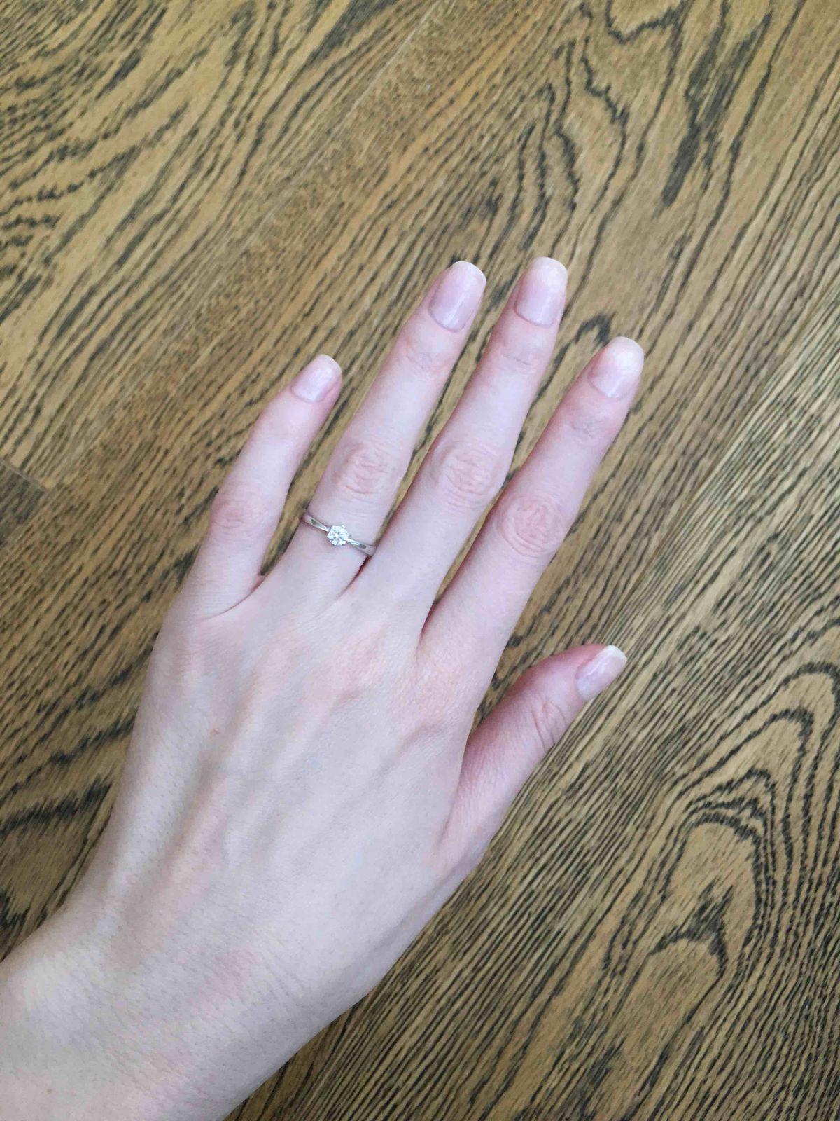 Нежнейшее кольцо.