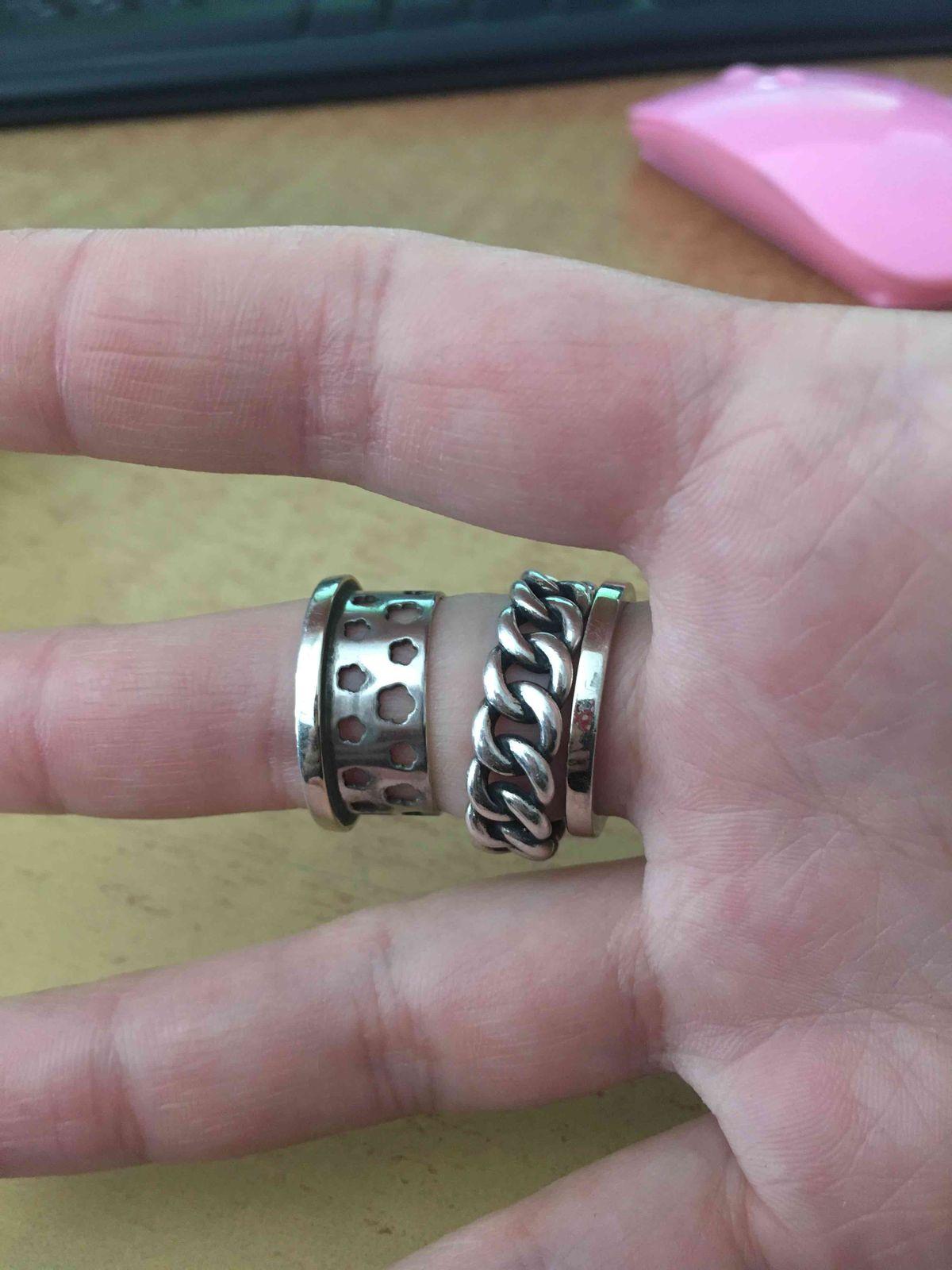 2е кольцо и опять развалилось